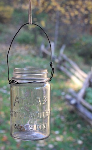 hanging vintage canning jar lantern 306x500 Classes