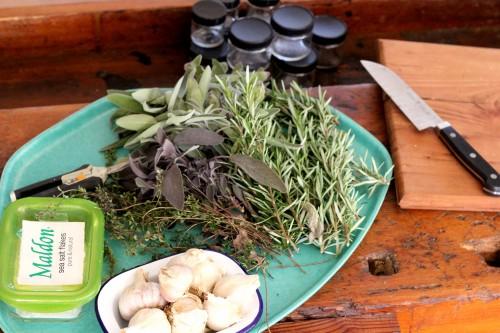 Craftiness Attack! ... and garlic herb salts - Log Cabin ...