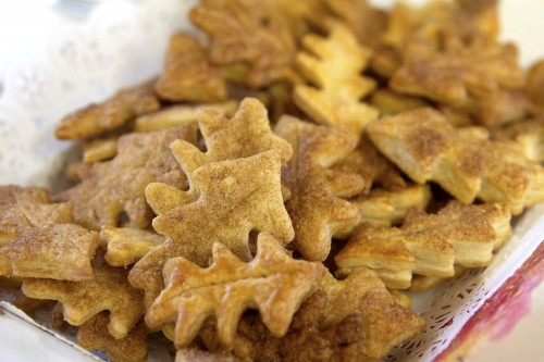 pastry leaves
