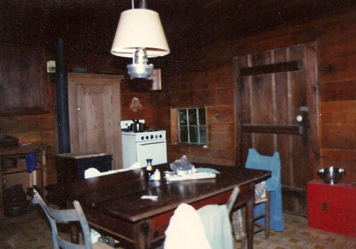 cabin kitchen 1970s