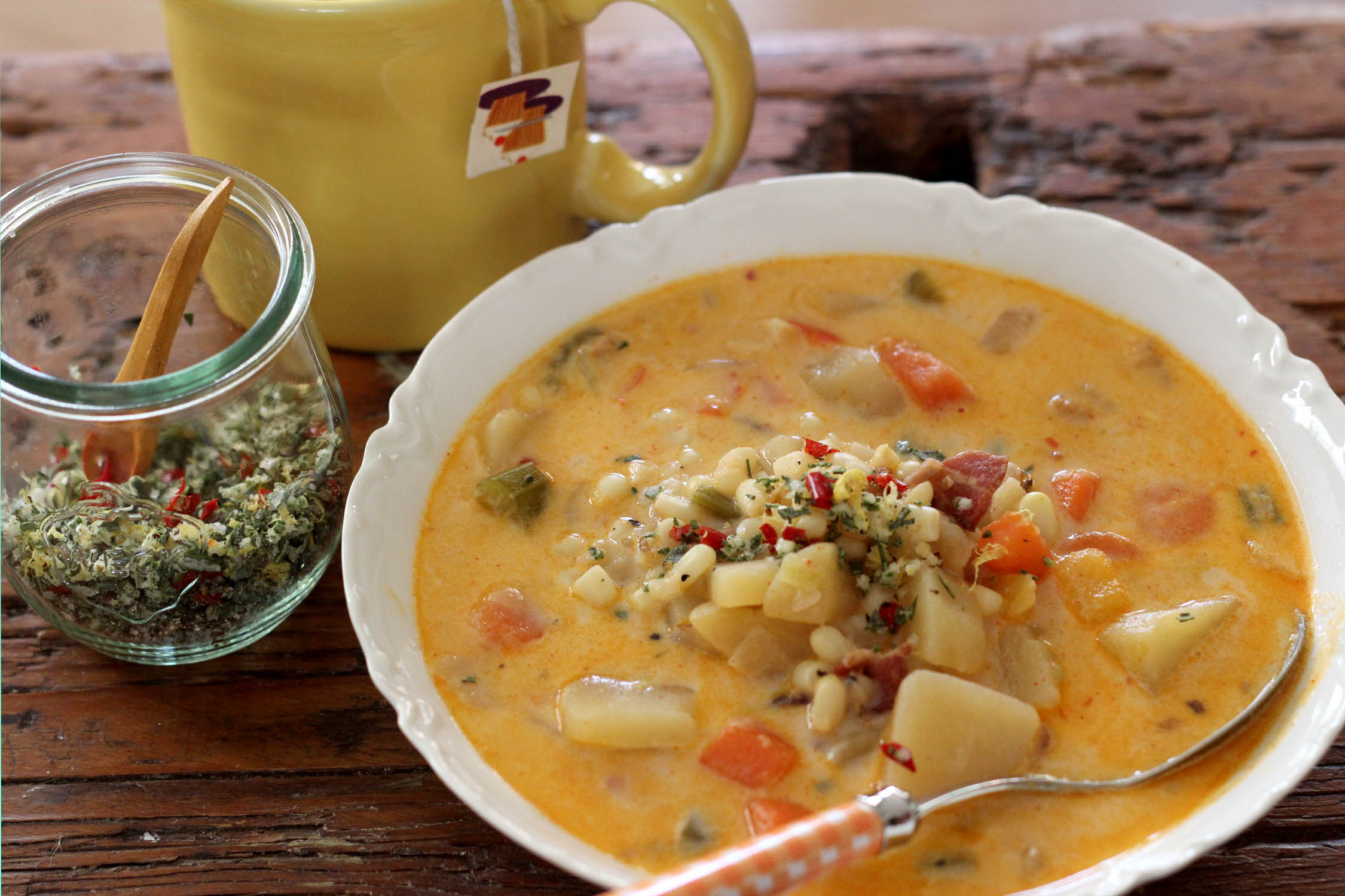 How To Cook Delicious Warm Potato Soup For The Stomach – Amplecomm