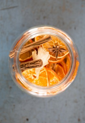 dried orange mulling mix