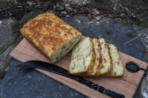 Savory Bacon, Cheddar, Chive Travel Cake Sale