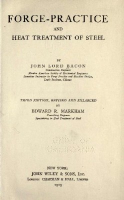 blacksmithing book