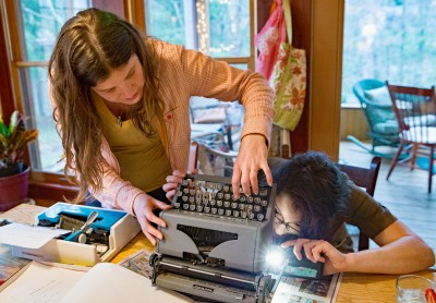 typewriter repair party