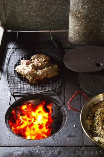 cookstove grilling