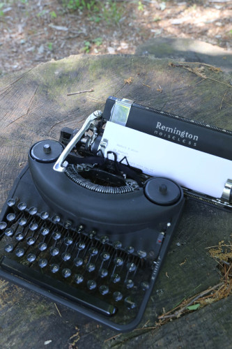 remington typewriter