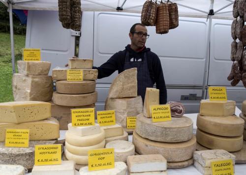 Cheeses from Branzi Italy