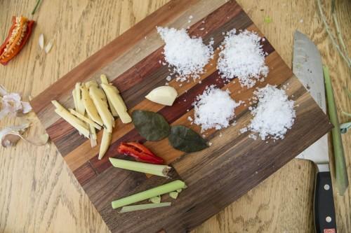 ginger garlic salt ingredients