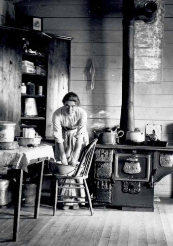Evelyn Jephson Cameron captures a moment in Montana life