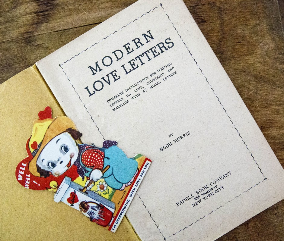 modern love letters valentine