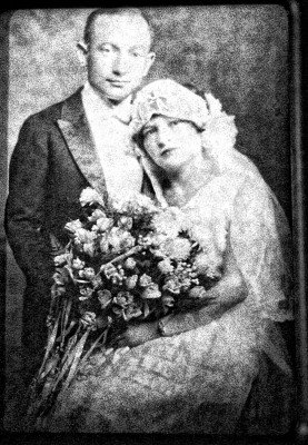 Isadore and his bride, Bessie