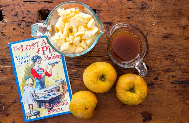 shriveled winter gold rush apples make the best pies